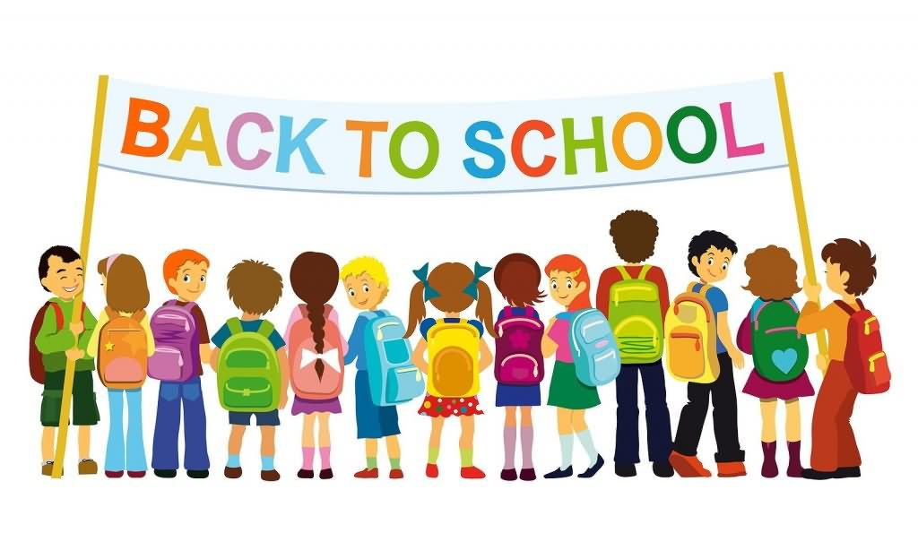 School clipart with kids picture freeuse library Kids back to school clipart - ClipartFest picture freeuse library