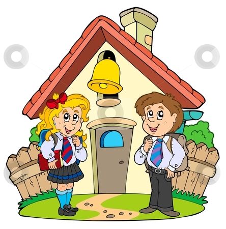 School clipart with kids banner free Clipart of children in school - ClipartFest banner free