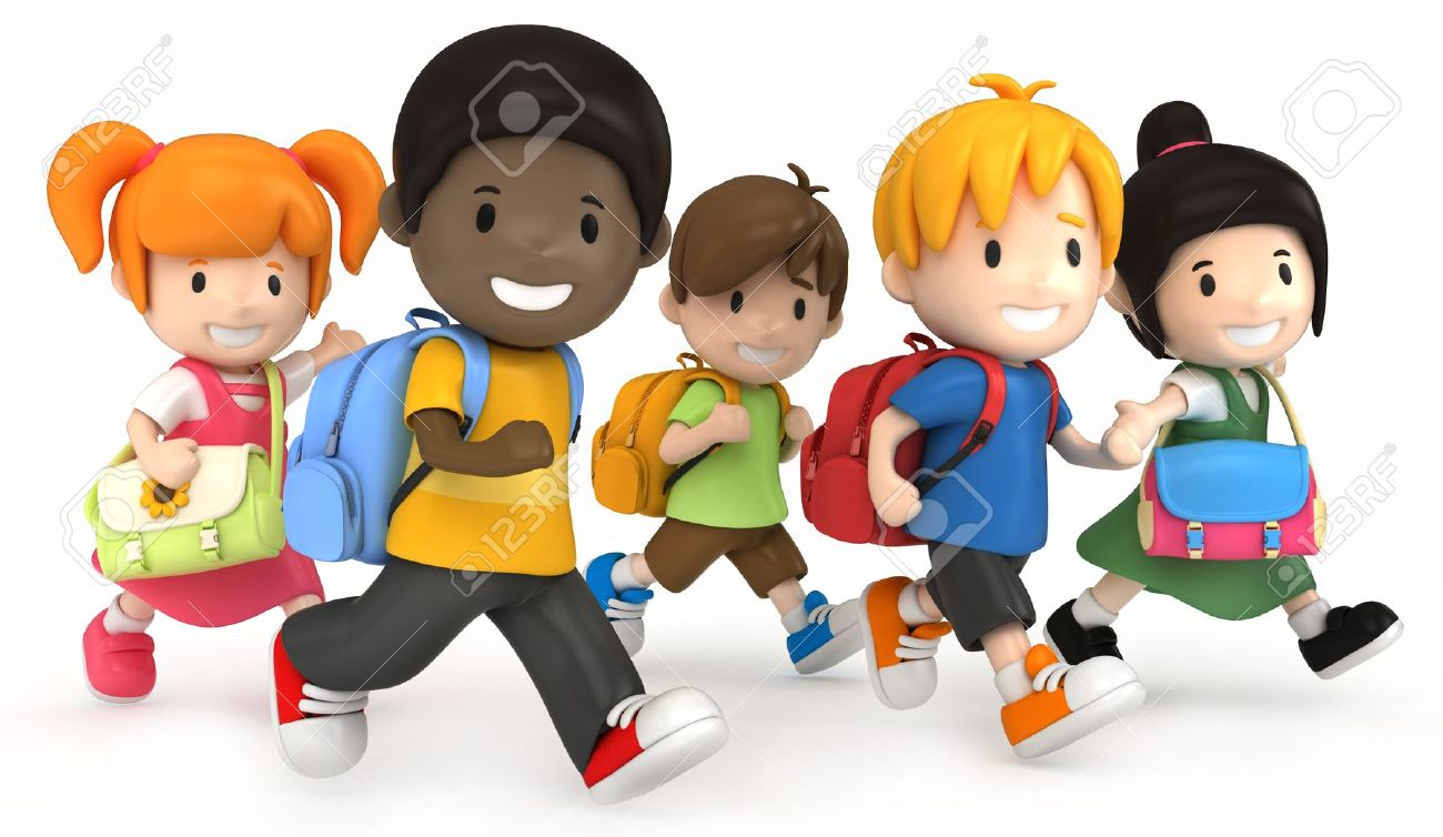 School clipart with kids jpg free library Kids helping at school clipart - ClipartFest jpg free library