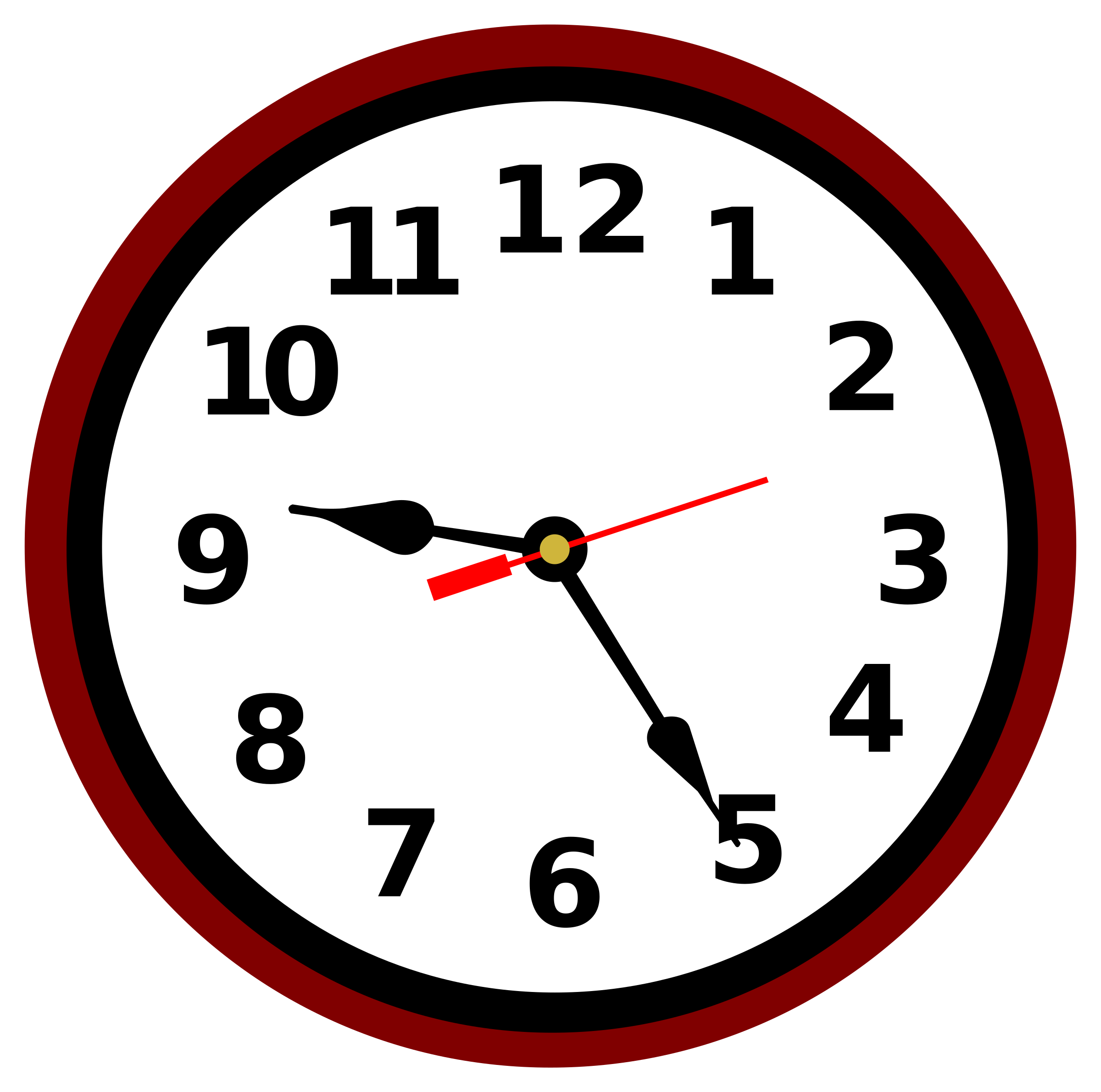 School clock clipart svg library download Clipart - Clock svg library download
