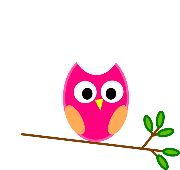School counselor clipart free png royalty free stock Cute Cartoon Owls | Pink Owl clip art - vector clip art online ... png royalty free stock