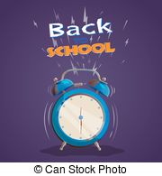 School countdown clipart svg free download Back school countdown Vector Clipart Illustrations. 23 Back school ... svg free download