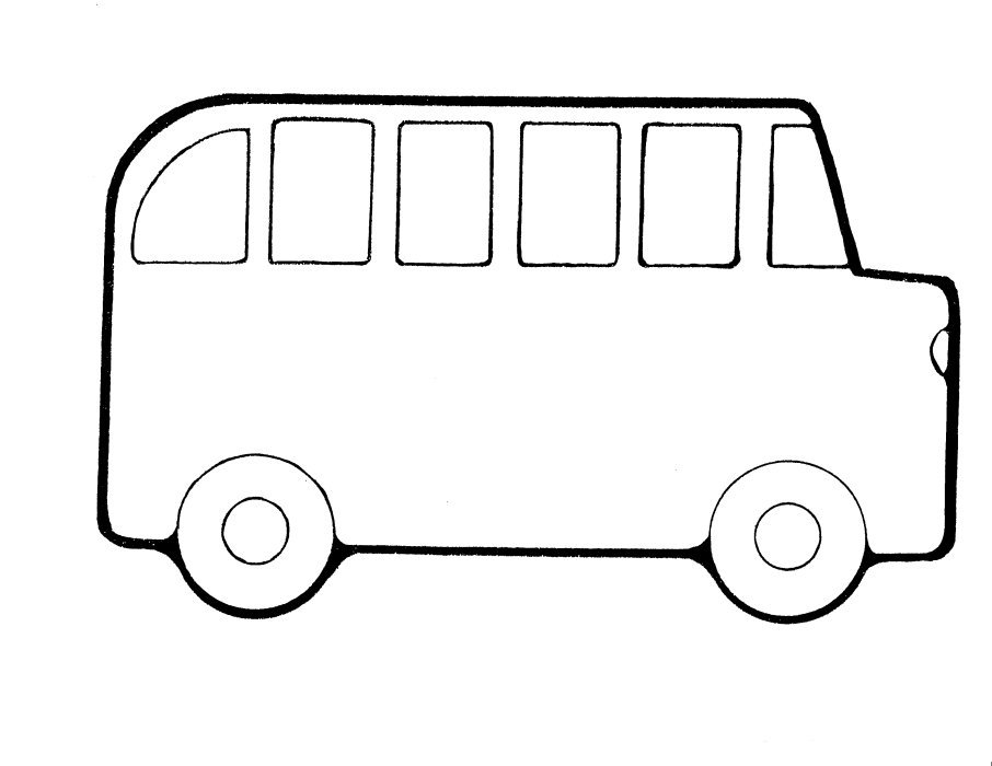 School countdown clipart vector free stock School Bus Template. school bus templates for kids back to school ... vector free stock