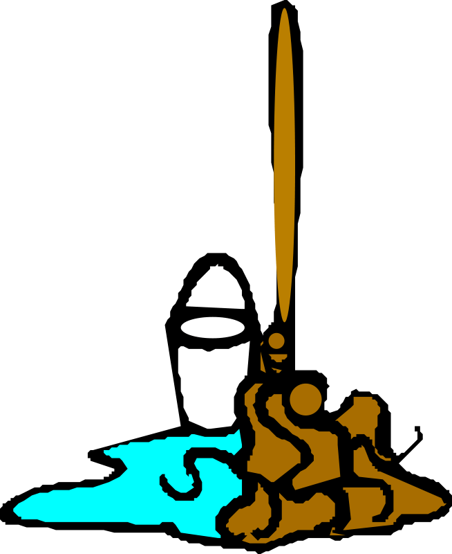 School custodian clipart clip freeuse stock The Two Most Important Positions in School clip freeuse stock