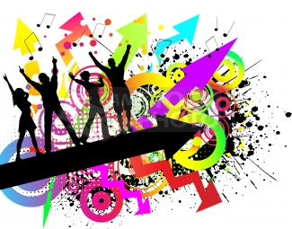 School dance design clipart image black and white Free School Dance Cliparts, Download Free Clip Art, Free ... image black and white