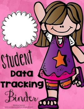 School data binder clipart clipart free Student Data Tracking Binder Covers and Binder Spines ... clipart free