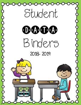 School data binder clipart image transparent download Student Data Binder Covers image transparent download