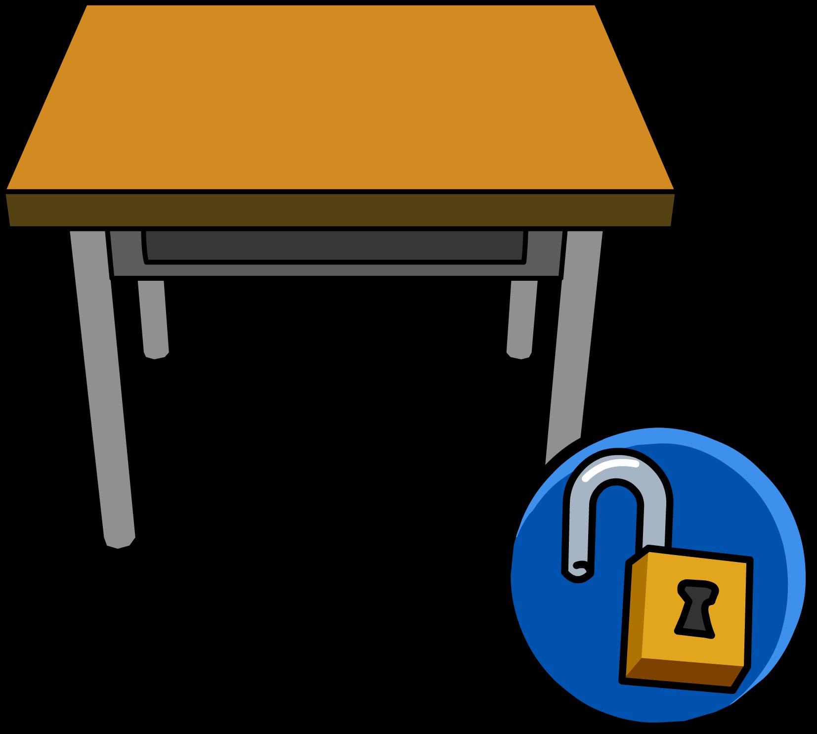 School desks clipart picture library download Classroom Desk | Club Penguin Wiki | FANDOM powered by Wikia picture library download