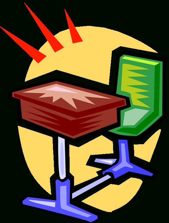 School desks clipart jpg royalty free Clean Student Desk Clipart | Letters Format jpg royalty free