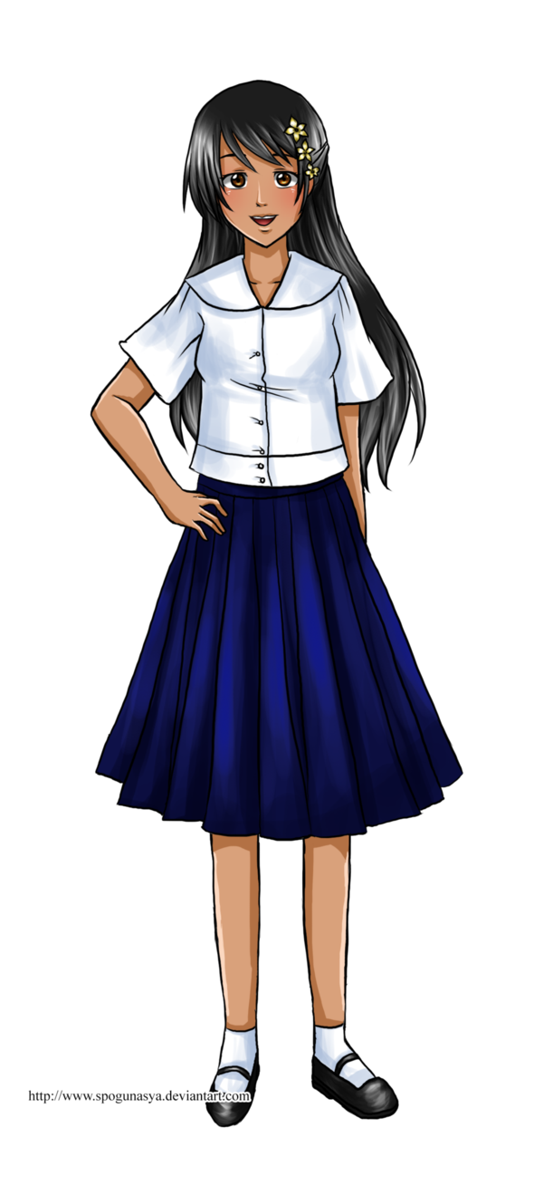 School uniform clipart image freeuse stock Hetalia : Philippine School Uniform by spogunasya on DeviantArt image freeuse stock