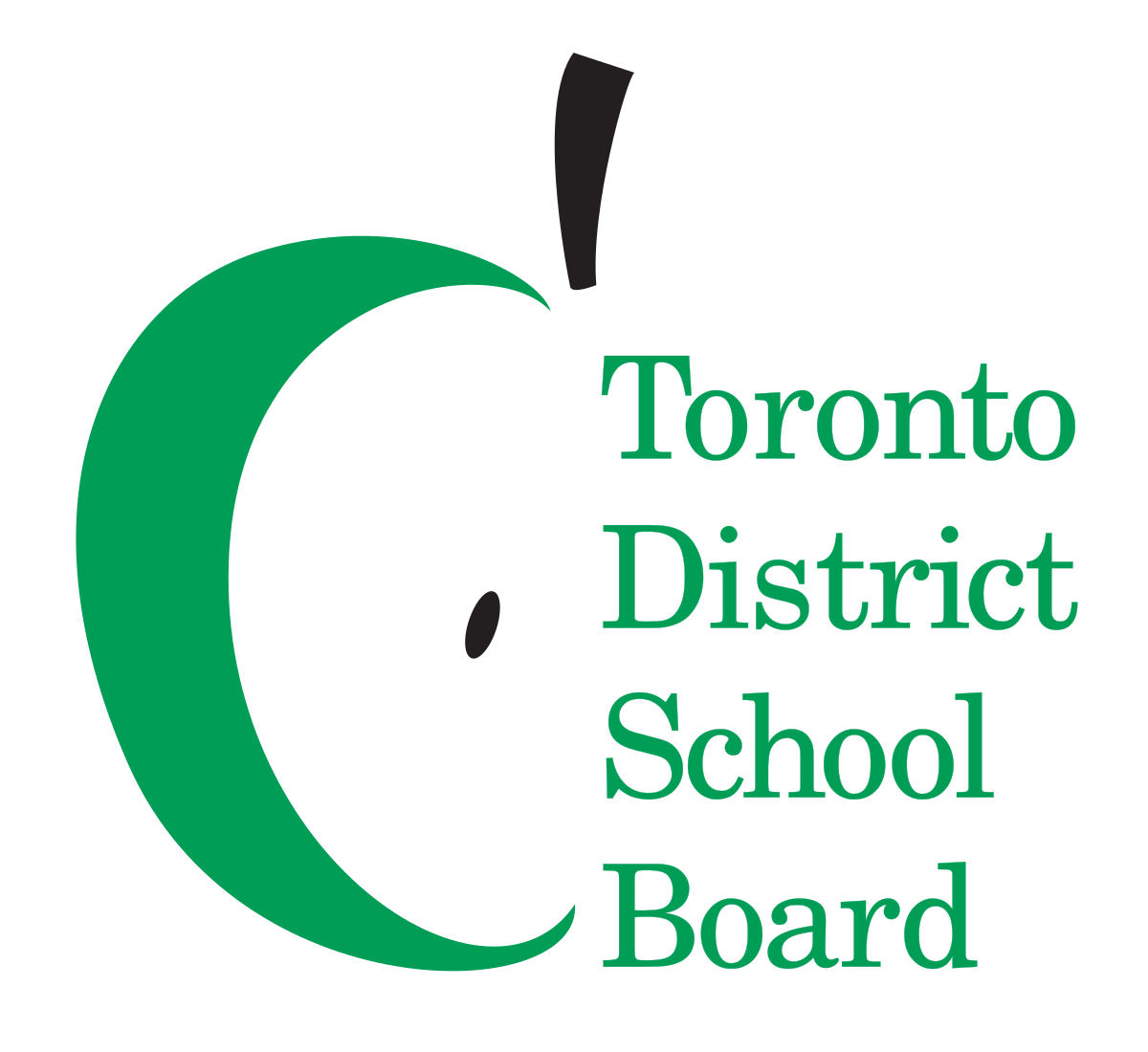 School sign clipart banner black and white Toronto District School Board - Wikipedia banner black and white