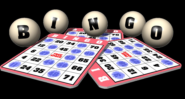 School events clipart svg free library Family Bingo Night