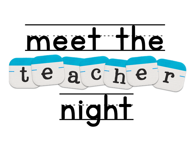 School events clipart clip stock Meet the Teacher Night – Lincoln Elementary School clip stock