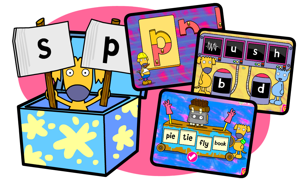 School games clipart jpg free download Literacy, Language And Phonics Activities   Busy Things jpg free download