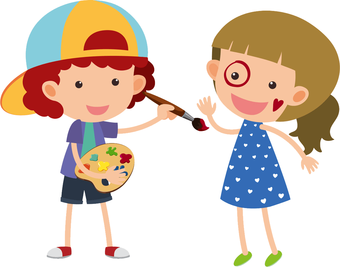 School girl and boy clipart svg library stock Registration | Preschool | St. Andrews Academy in Fayetteville, NC svg library stock