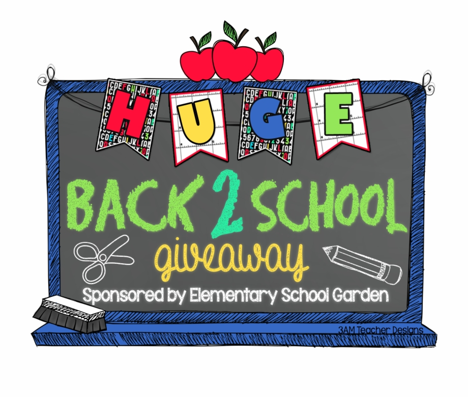 School give away clipart clip transparent Back 2 School Giveaway Winners Announced Just In Time Free ... clip transparent