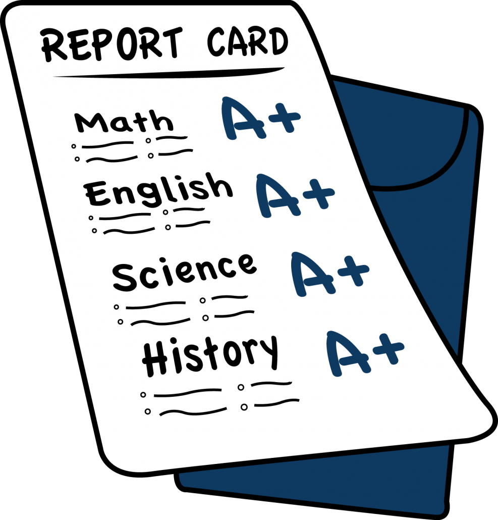 School grades clipart picture free library Midterms, Report Cards and Grades Online – Hawthorn Middle South picture free library