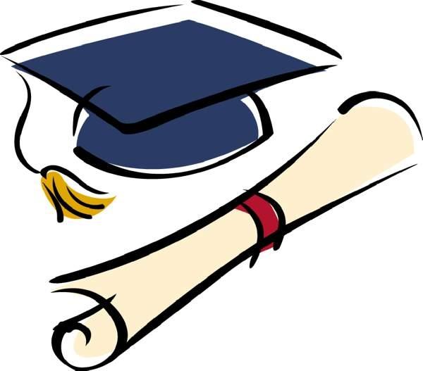 School graduation clipart graphic library download 20+ High School Graduation Clip Art | ClipartLook graphic library download