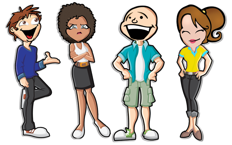 School group clipart graphic black and white stock Personality Profiling | Cyber School Group graphic black and white stock