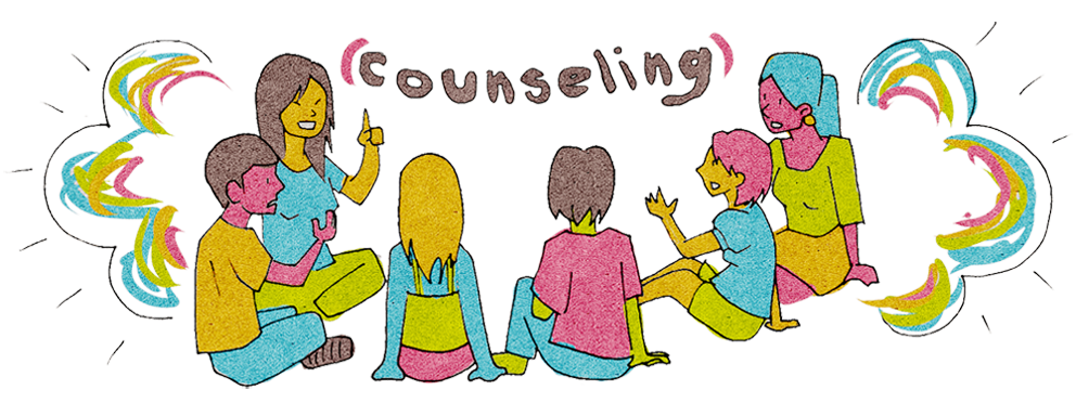 School guidance counselor clipart clip art royalty free stock Group and Individual Counseling - Carmen Arace Intermediate School clip art royalty free stock
