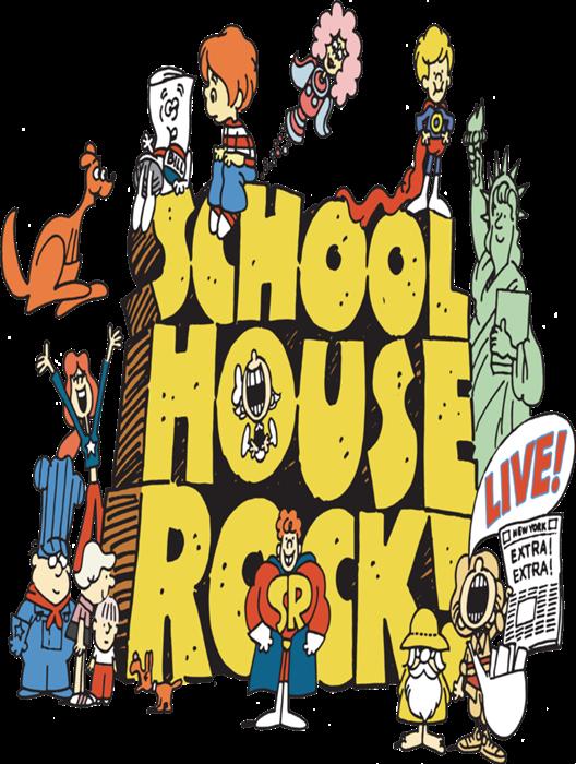 School house rock clipart vector transparent stock Schoolhouse Rock Live! at Berthoud High School - Performances May 1 ... vector transparent stock