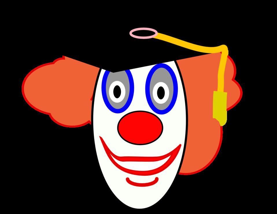 School id clipart svg free download Public Domain Clip Art Image   Clown School Graduate   ID ... svg free download