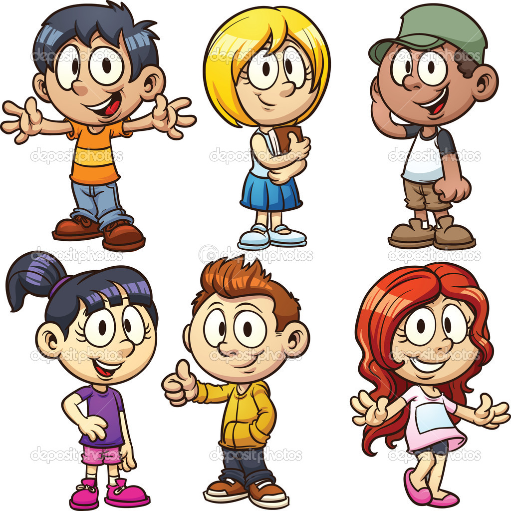 School kids character clipart jpg black and white playkids cartoons for kids screenshot. cartoon kids stock ... jpg black and white