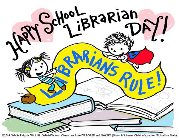 School librarian day clipart jpg black and white Pin by Caroline Flory (Under God\'s Mighty Hand) on Books and ... jpg black and white