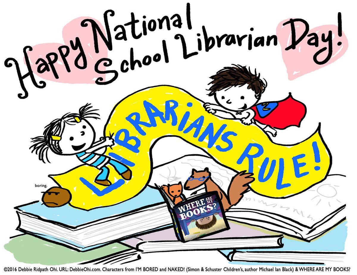 School librarian day clipart png royalty free library Hacienda Heights International Library on Twitter: \