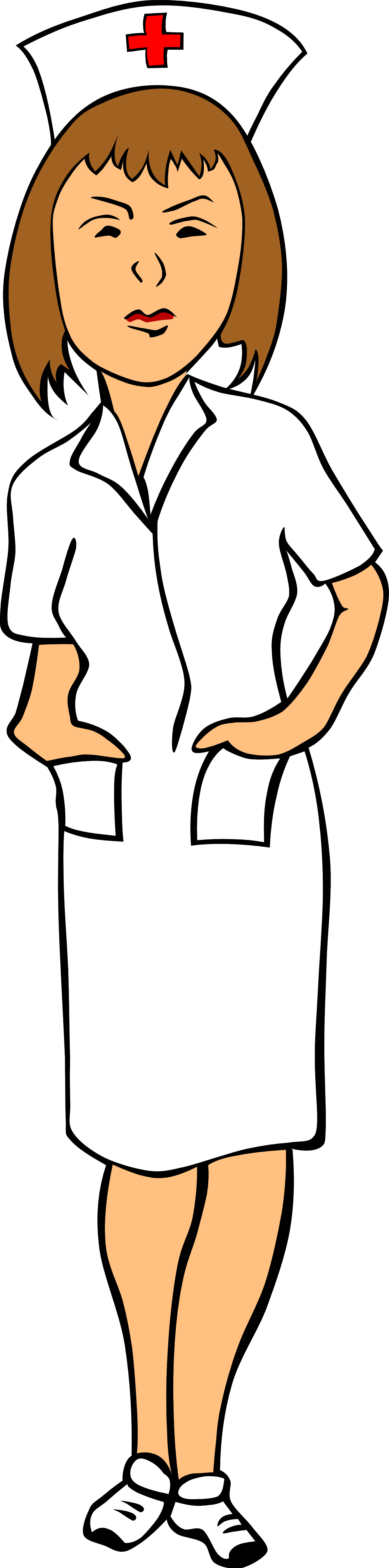 School nurse clipart black and white picture royalty free library Nurse Clip Art Black And White | Clipart Panda - Free Clipart Images picture royalty free library