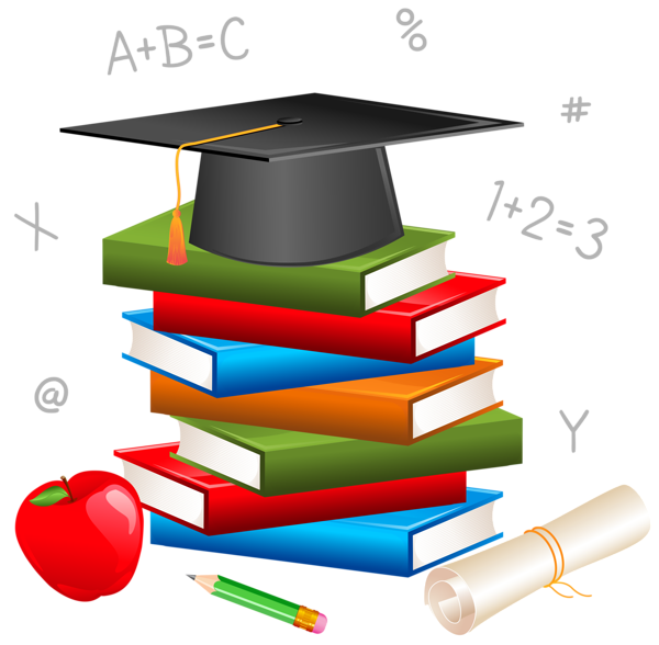 School objects clipart clip black and white stock School Decor PNG Picture | Primarios | Pinterest | School, Clip art ... clip black and white stock