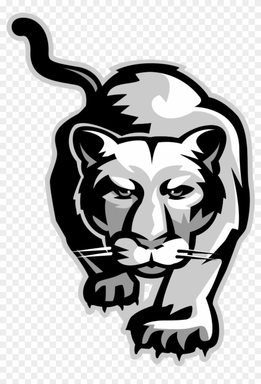 School of the arts clipart jpg black and white stock Cougar Logo Images Crazy Gallery - Dreyfoos School Of The ... jpg black and white stock