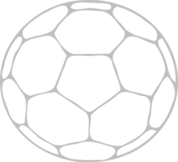 School outline clipart image black and white stock Soccer Ball Outline clip art - vector clip art online, royalty ... image black and white stock