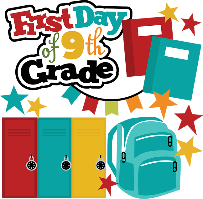 School picture day clipart jpg First Day Of 9th Grade SVG school svg files for scrapbooking free ... jpg