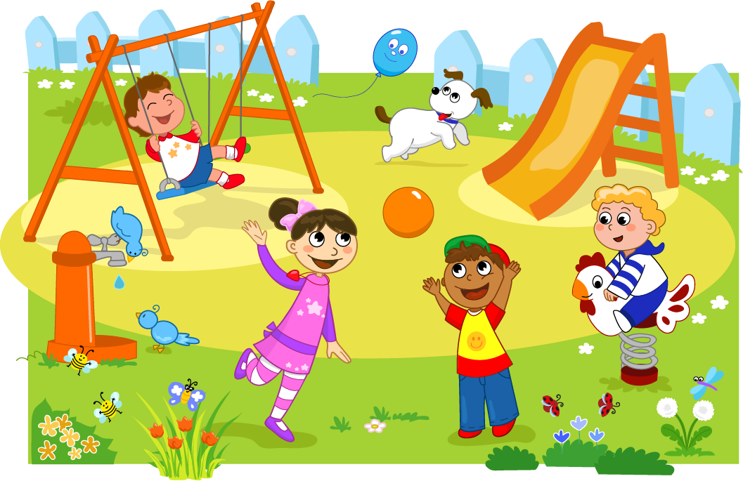 School playground clipart clipart black and white 19 Playground clipart HUGE FREEBIE! Download for PowerPoint ... clipart black and white