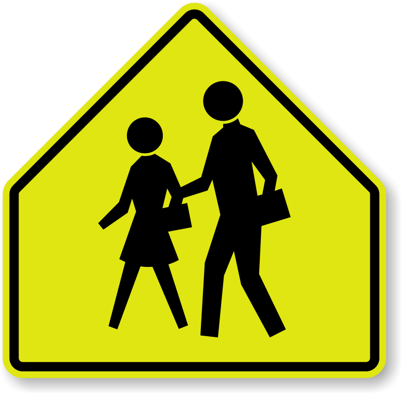 School sign clipart image freeuse download School Zone Signs | School Area Signs image freeuse download
