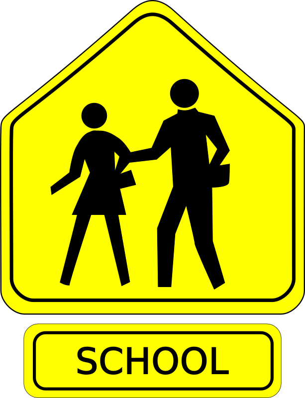 School signs clipart clipart free library 28+ Collection of School Zone Clipart | High quality, free cliparts ... clipart free library
