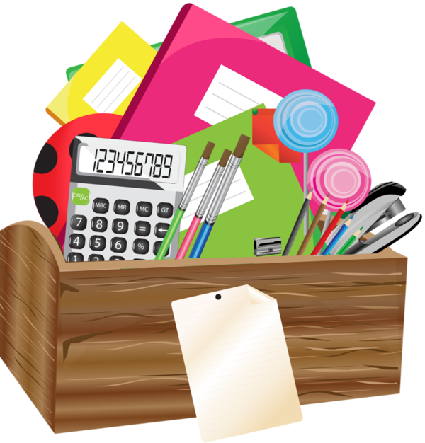 School stationery clipart vector stock Art Supplies Clipart at GetDrawings.com | Free for personal use Art ... vector stock