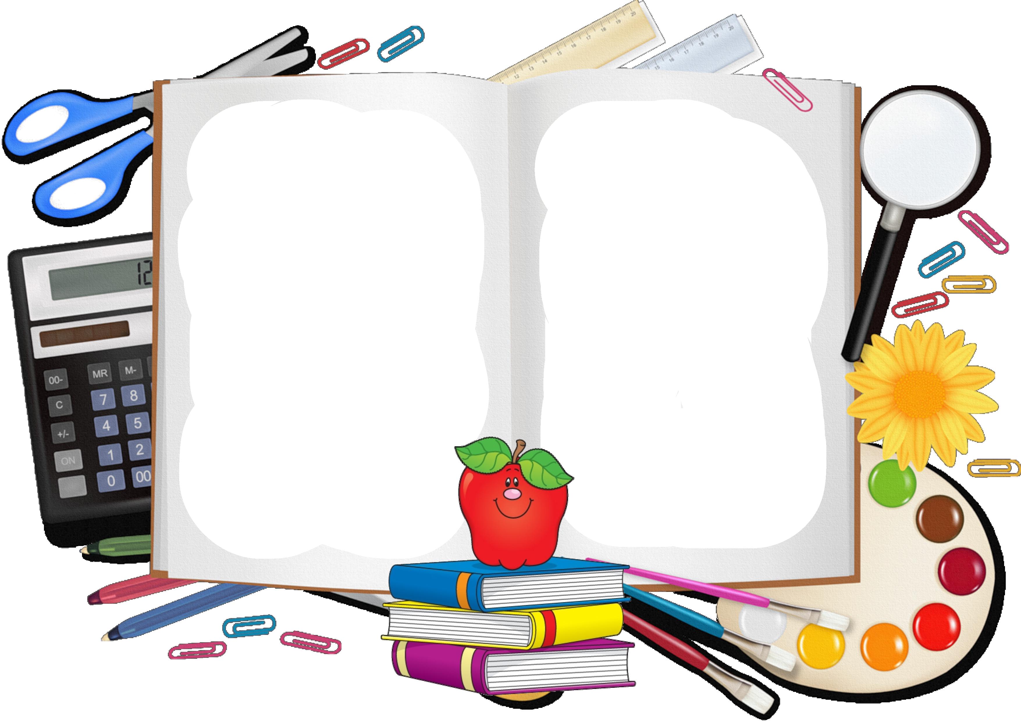 School supplies background clipart free School supplies cartoon images clipart images gallery for ... free