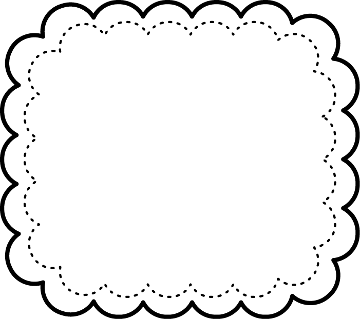 School supplies clipart black and white borders banner library frames-pretty-clipart-003.png (701×622) | DIY to try | Pinterest ... banner library