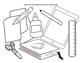 School supplies clipart black and white line banner black and white School Supplies Clipart Black And White (94+ images in ... banner black and white