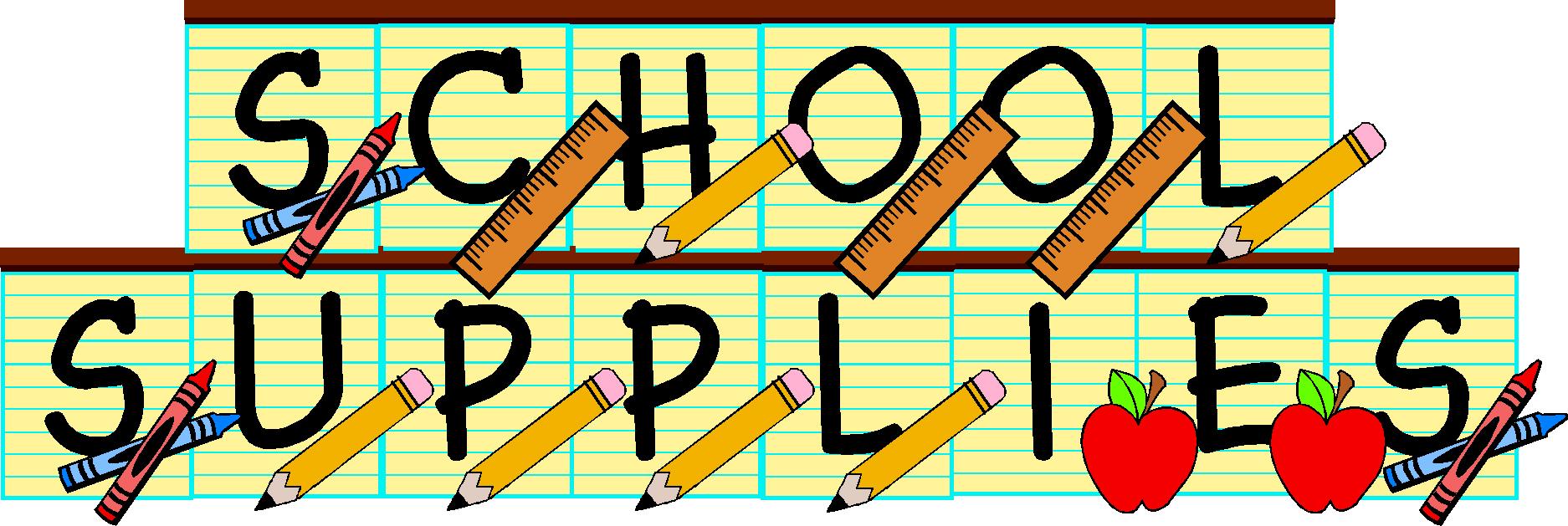 School supplies clipart graphics clipart royalty free library School Supplies Clipart & School Supplies Clip Art Images ... clipart royalty free library