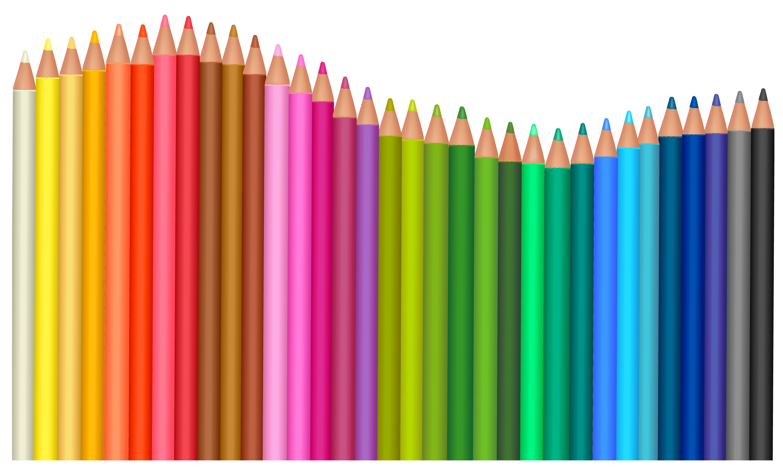 School supplies clipart transparent vector black and white Transparent Pencils PNG Vector Clipart | Gallery Yopriceville ... vector black and white