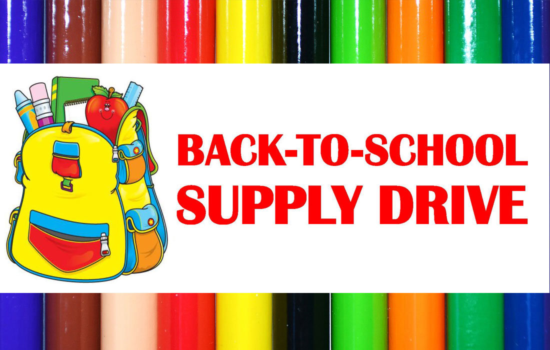 School supplies drive clipart picture freeuse download Back to School Drive — Fauntleroy Church, UCC in West Seattle picture freeuse download