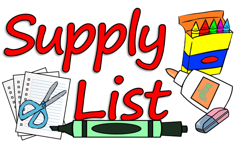 School supplies list clipart vector transparent 2019-2020 School Supply List - Hammond Elementary School vector transparent