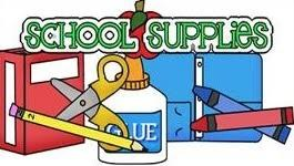 School supplies list clipart picture black and white download Madisonville Middle School picture black and white download