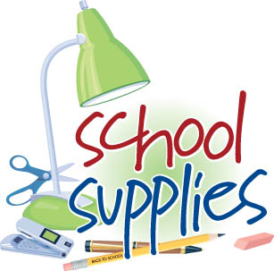 School supplies list clipart png black and white SCHOOL SUPPLY LIST | Clipart Panda - Free Clipart Images png black and white