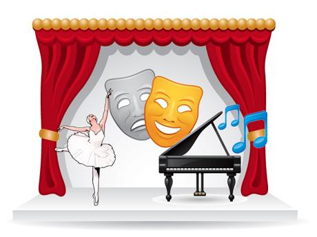 School talent show clipart clip free stock Free Talent Show Cliparts, Download Free Clip Art, Free Clip ... clip free stock