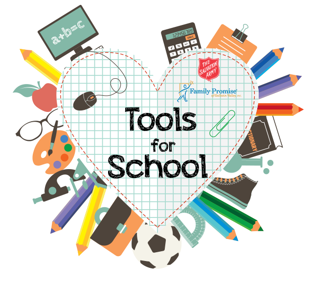 School tools clipart banner library stock Events | Family Promise banner library stock