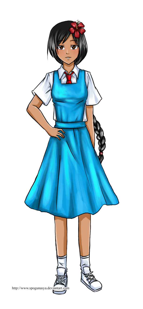 School uniform clipart picture freeuse library Hetalia : Malaysian School Uniform by spogunasya on DeviantArt picture freeuse library